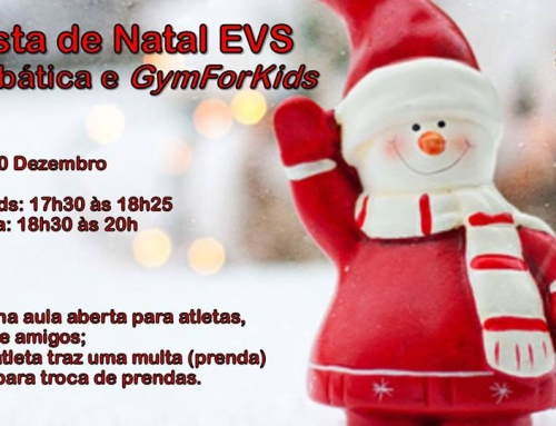 Festa de Natal Acrobática e GymForKids