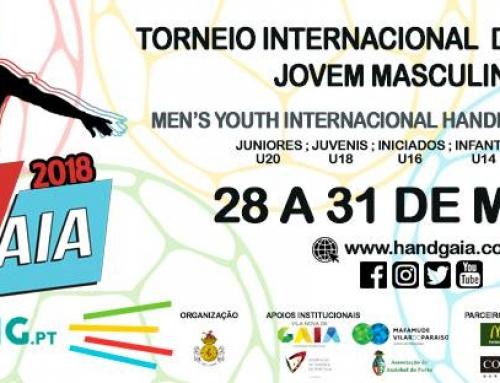 HandGaia 2018 – Torneio Internacional Masculino de Andebol