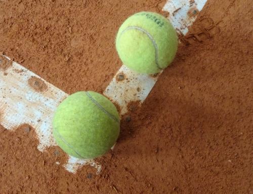 Aula de ténis gratuita