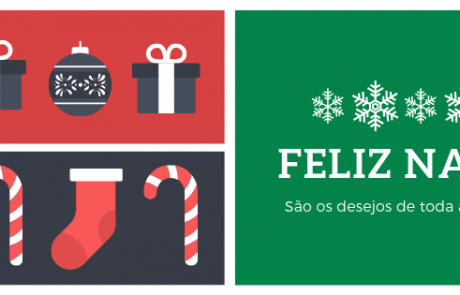 Illustrated Modern Christmas Facebook Cover