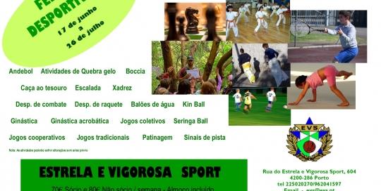 Folheto ferias desportivas 2019 verao